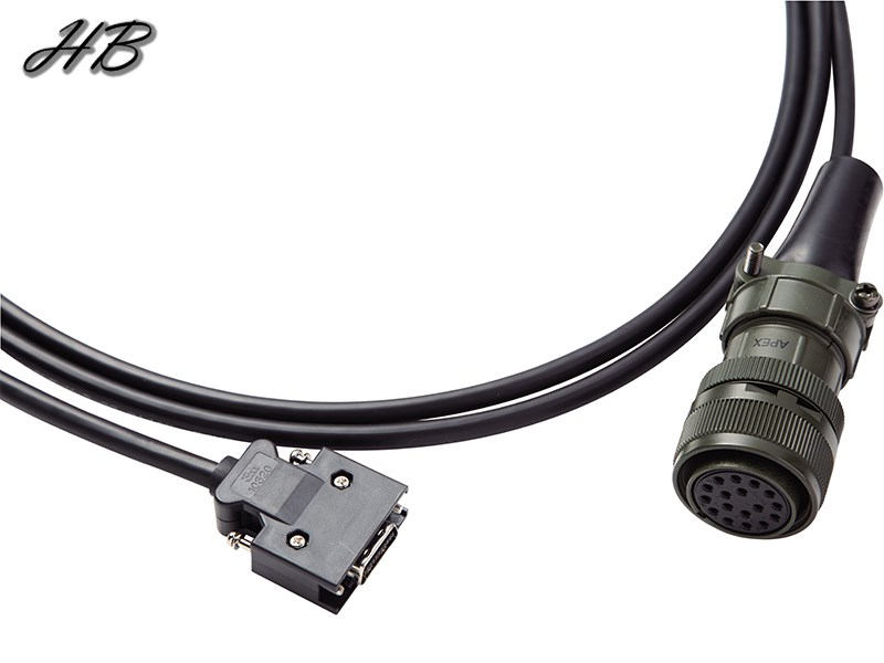 ASD-A2EN100X Military Encoder Cable