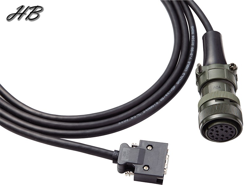 ASD-CAEN100X Military Incremental Encoder Cable